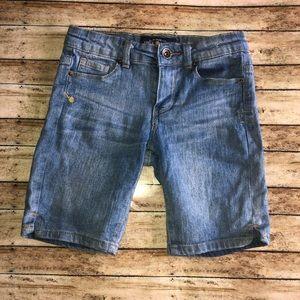 Lucky Brand Zoe Fit Jegging Bermuda Jean Shorts 8